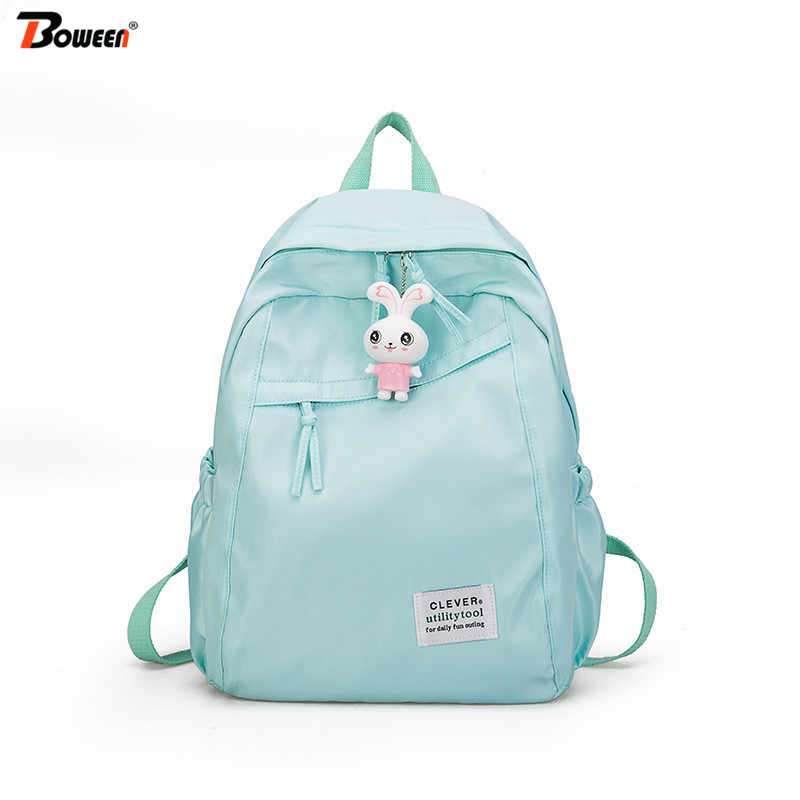 New Oxford Teen Backpacks for Teenage Girls Cute School Bags Back Pack Women Bag Back College Wind High School Bagpack Pink Big