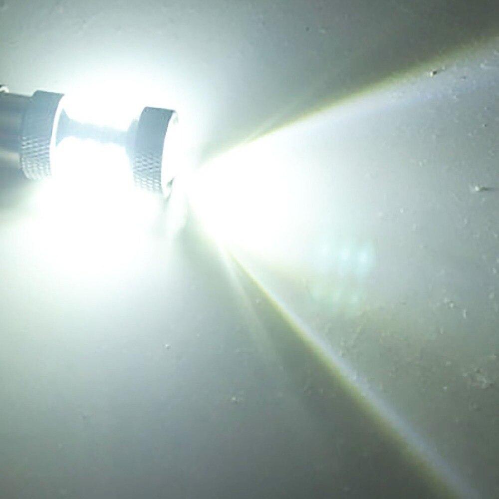 2 Ampoules P21W Ba15s 1156 &#8211; 16 x 5W <font><b>Led</b></font> XBD &#8211; Feux de <font><b>jour</b></font> Diurne &#8211; Blanc