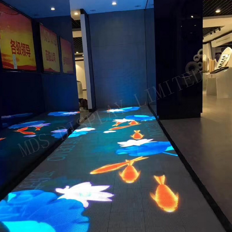 SMD2727 indoor 500x500mm New Design D6 Series 6.25mm Dance Floor LED Display Panel