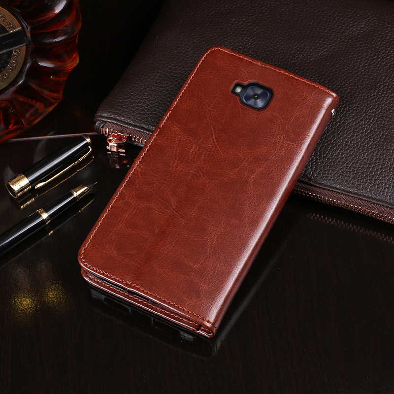 Detail Feedback Questions about Leather Case For Asus ZenFone 4 ... 091689e4711e0