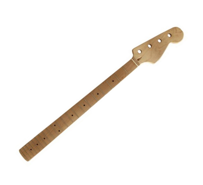 De calidad superior 21 Fret inlay dots Cuello De Arce bajo Eléctrico instrumento