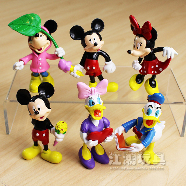 Aliexpresscom  Buy Mickey Mouse Minnie Mouse Donald Duck Figures