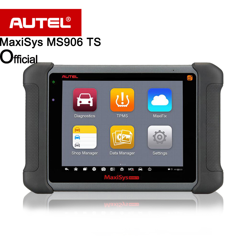 Autel MaxiSys MS906TS Newly Add TPMS Antenna Module Free Online Update Full System ECU Coding Better than MS906 & MS906BT