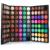 Profesional Nude Colores Contorno de Ojos Ahumados Cosméticos Impermeable Resplandor Polvo Del Brillo de 120 Colores de Sombra de Ojos Paleta Set de Maquillaje