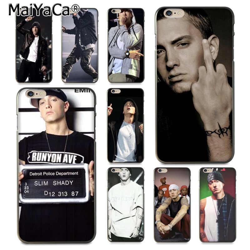 6a8c1449a9b MaiYaCa Hip Hop Rapper Eminem rap Newest Super Cute Phone Cases for iPhone  8 7 6