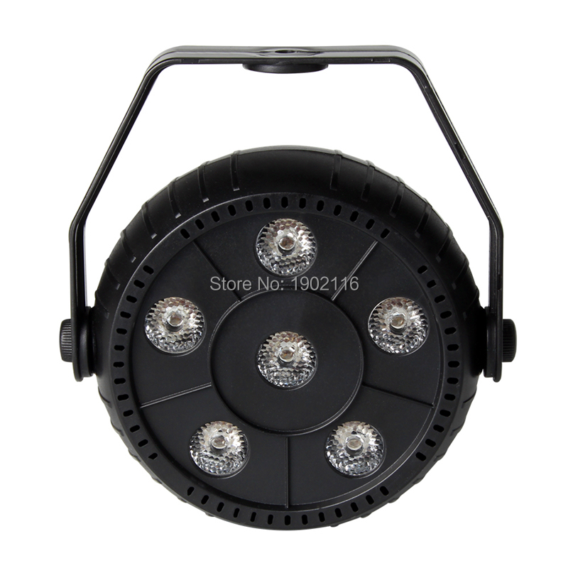 Portable 6 Led 3IN1 Par Stage Light Wireless Remote Disco Party Lights Laser DJ KTV Wash RGB Effect Equipment Home Party Light