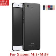 MSVII чехол для xiaomi mi5 чехол для xiaomi mi 5 Чехол Pro Prime Untral тонкая жесткая задняя крышка из ПК для xiaomi mi5 s Чехол