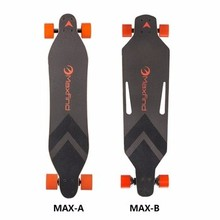 Best Gift for Girls Maxfind Hoverboard Longboard/Scooter board/ Four Wheels Electric Skateboard with dual motor remote cotroller