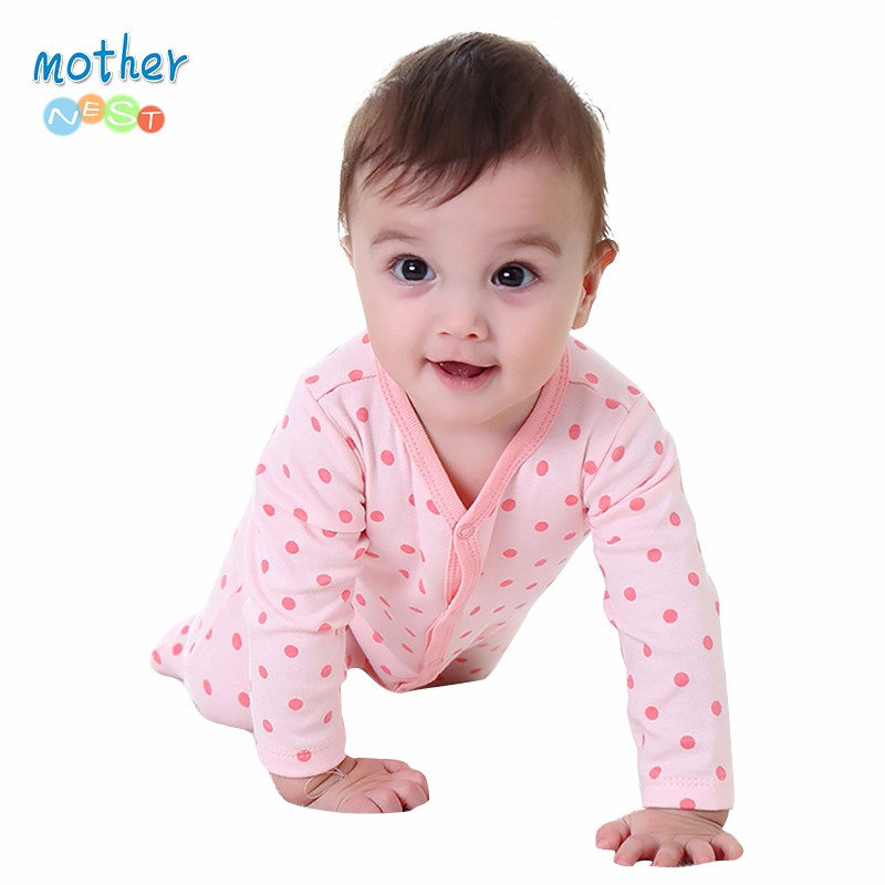 Mother Nest New Style Baby Clothing for 10-12 Pink Color Baby Winter Overalls Next Baby Newborn Clothes Body