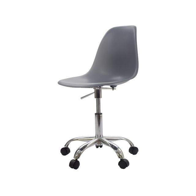 Etonnant Modern Design Plastic And Steel Swivel Office Computer Chair With 5 Star  Wheel Plastic Shell Chair Swivel Chair With Gas Lift