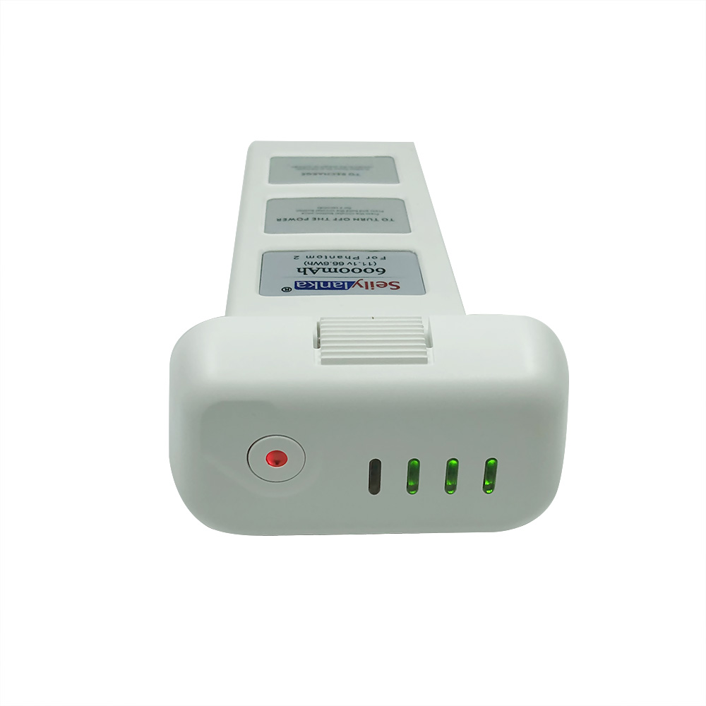 6000mAh 11.1V Upgraded And Large Capacity Spare Battery For DJI Phantom 2 Vision + Quadcopter 66.6Wh 10C