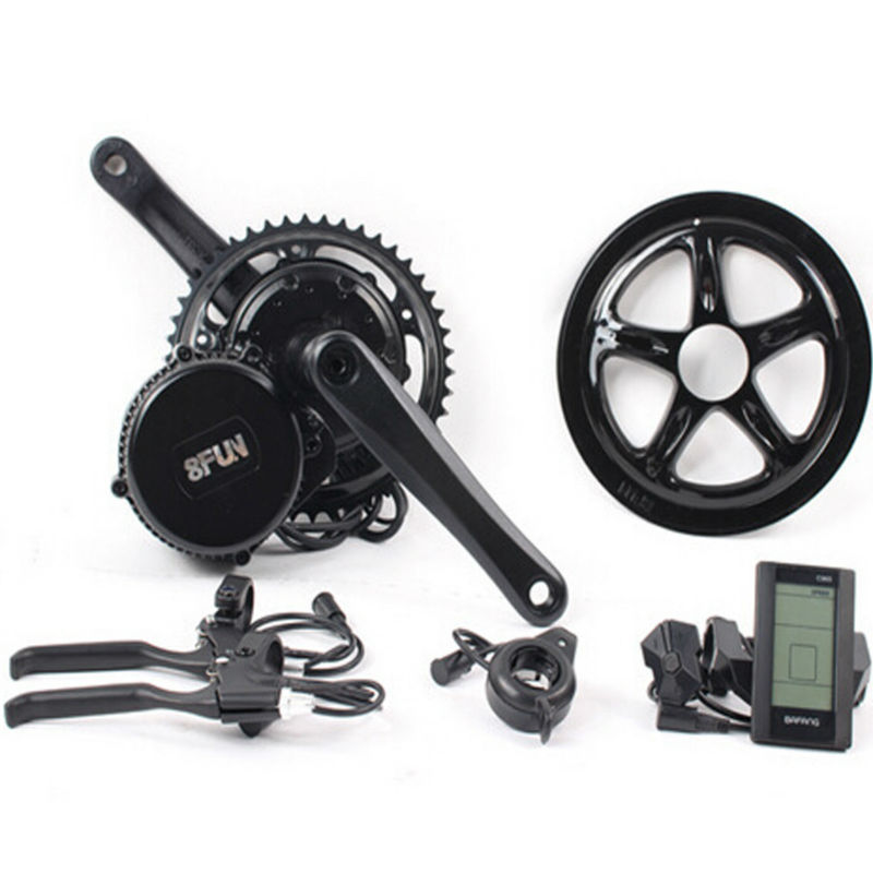 Bafang BBS03/BBSHD Lastest model 48V 1000W Ebike Electric bicycle Motor 8fun mid drive electric bike conversion kit free shipping electric bicycle 48v 1000w 8fun bafang bbs03 bbshd mid drive motor kit 68mm 100mm 120mm with c965 lcd display