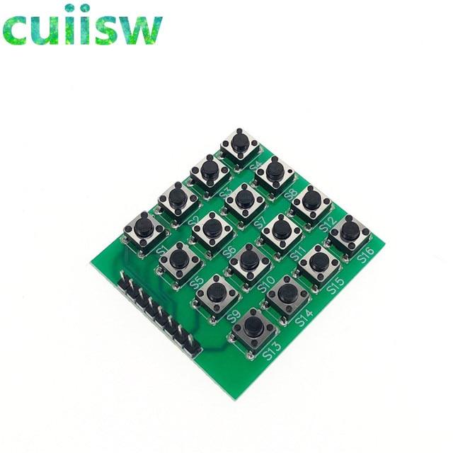 e202cc53508 10pcs 4x4 Matrix 16 Keypad Keyboard Module 16 Button Mcu for Arduino ...