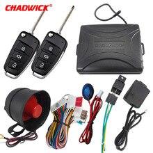 Chadwick 8118 Voor Japanse Auto #7 Flip Sleutel Auto Alarm Systeem Withsiren One Way Auto Beveiliging Keyless Entry voertuig Anti Diefstal