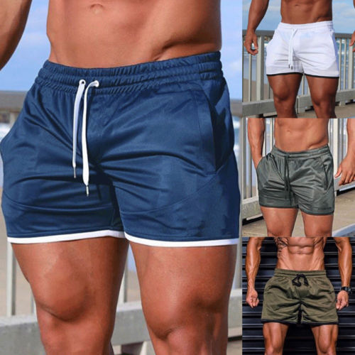 New 2018 Summer Men Casual Hot Short Pants Gym Fitness Jogging Running Sports Wear Shorts