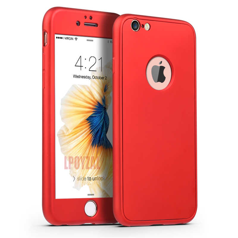 Luxury 360 Penuh Tubuh Perlindungan Ponsel Case untuk iPhone X XS Max XR Lembut Silicone TPU Slim Back Cover untuk iPhone 8 7 6 6S PLUS 5S