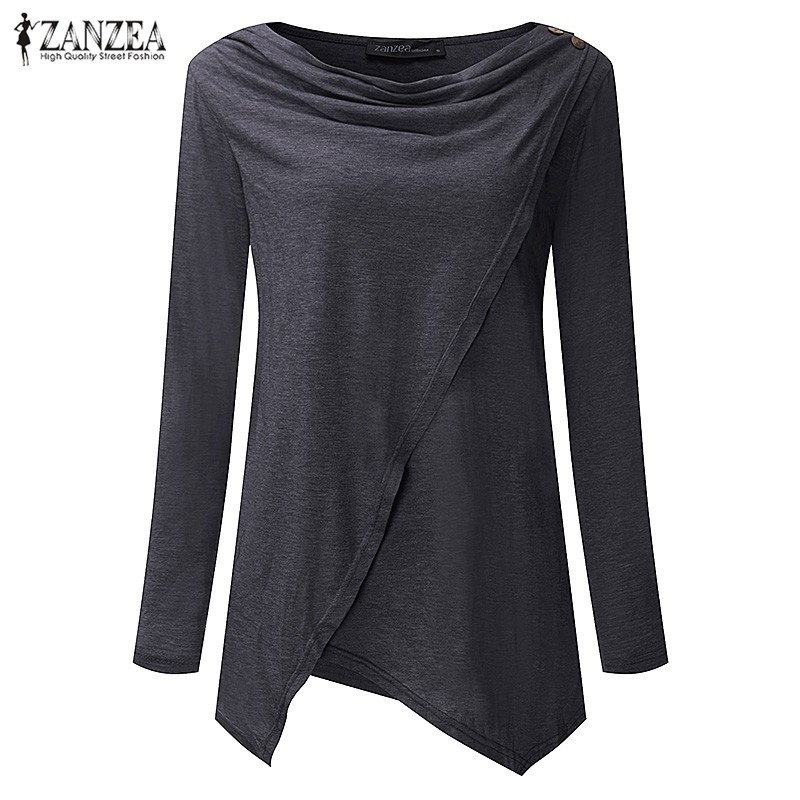 HTB1toYVOVXXXXalXXXXq6xXFXXXy - Women Cardigan Long Sleeve O Neck Casual Loose Blouses