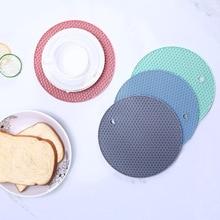 1 Ps Creative Honeycomb Shape Nordic Style Thicken Kitchen Tableware Pad Dinner Decor Dish Pan Cup Mug Mats Pads Drop Shipping
