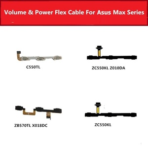 Volume & on Power Flex Cable For Asus Zenfone 4 Max ZC550TL ZC550KL ZC550KL ZB570TL X018DC Switch button Key Side flex ribbon