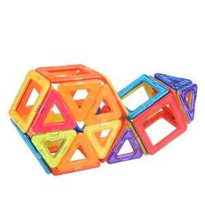 Image 4 - VINEDI grande taille blocs magnétiques magnétique concepteur constructeur ensemble modèle et construction jouet aimants jouets éducatifs pour les enfants