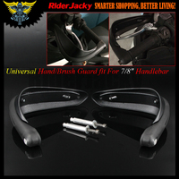 Universal For 7 8 Handlebar Matte Black Motorcycle Hand Guards Motocross Dirtbike Handguards For Dual Road