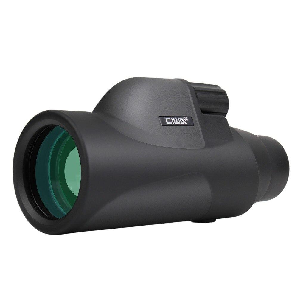 CIWA NENHUMA visão noturna HD Monocular de visão do olho 10X42 Poderoso Único Foco Ocular Do Telescópio HD High-power single-lens Monocular