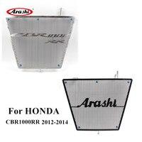 Arashi For HONDA CBR1000RR 2012 2014 Radiator Grille Protector Cover Case Guard CBR 1000 RR CBR1000 1000RR 2012 2013 2014