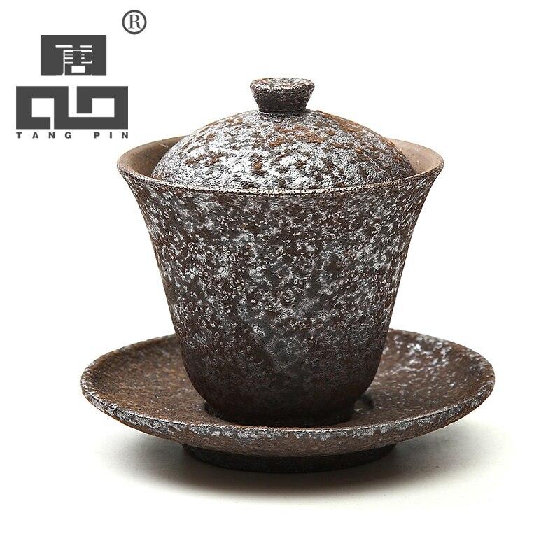 TANGPIN Ceramic Gaiwan Teacup Teapot Kettle Chinese Tea Pot Japanese Tea Set Drinkware