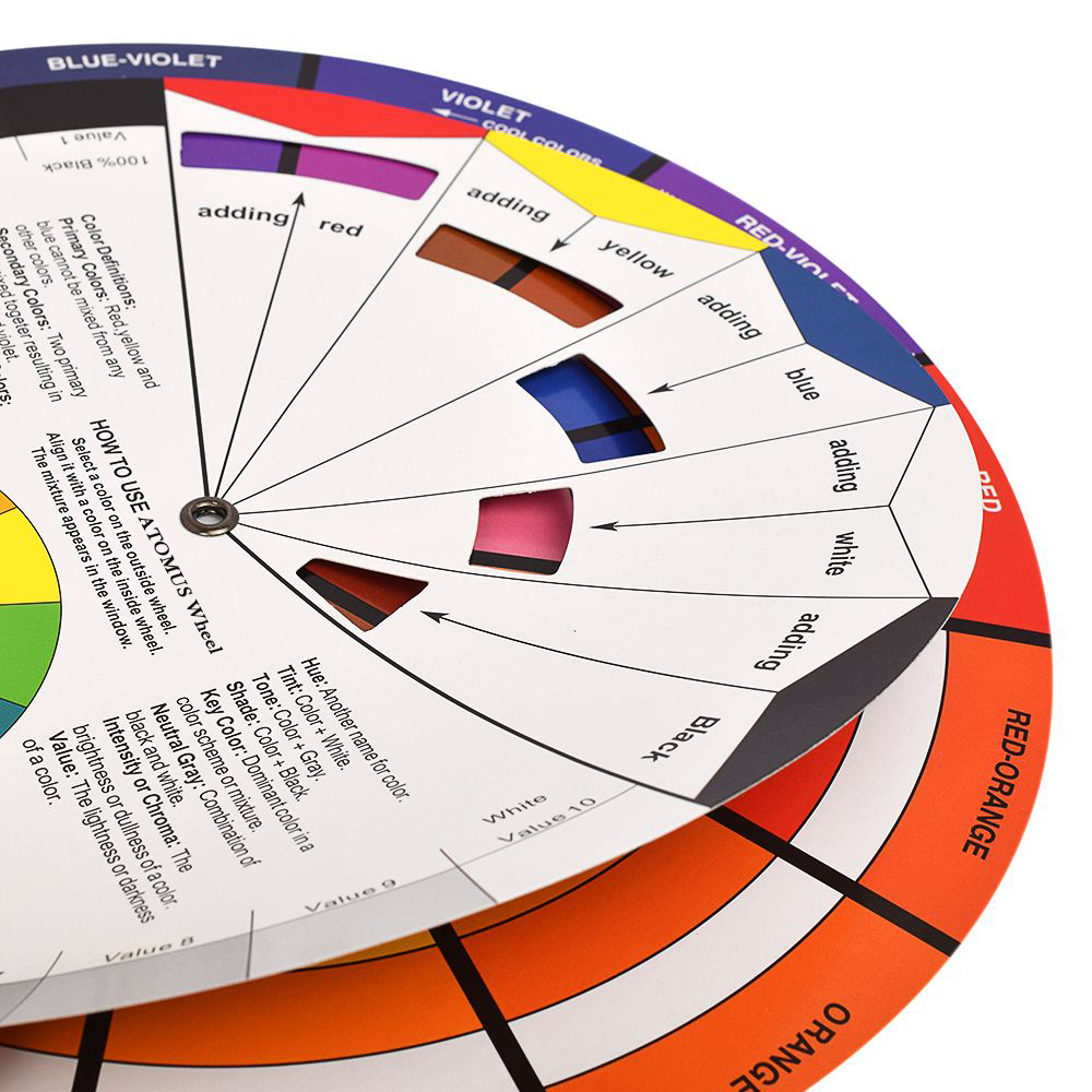 Color wheel for permanent makeup mugeek vidalondon for Tattoo ink color chart