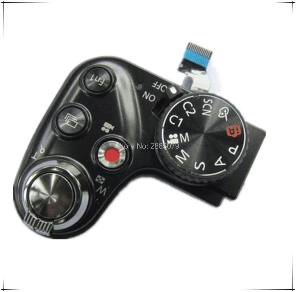 New Original FZ200 Top Bouton De Déverrouillage Mode Cadran Unité Pour Panasonic Lumix DMC-FZ200 FZ200 Camera repair partie