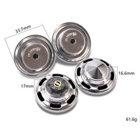 Front & Rear Hub Cap For DJC 0627 RC4WD TF2 FJ40/FJ45/FJ55 HPI FJ LAND CRUISER lc70/lc80 Metal Hub Cap RC Car Accessories