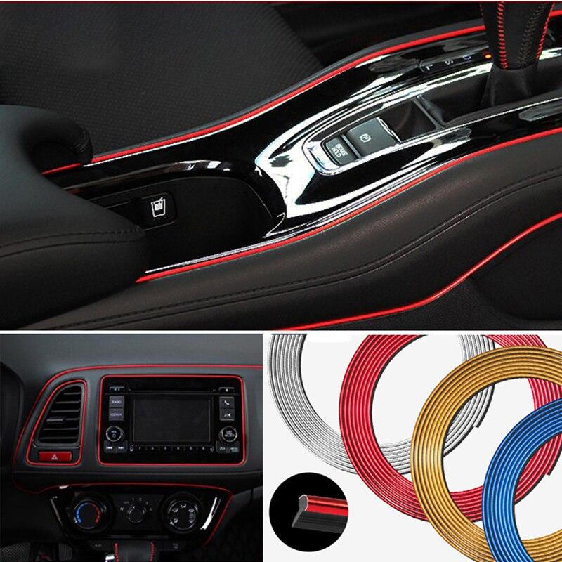 Автомобильная дверь края приборной панели вентиляционное отверстие Украшение рулевого колеса для Hyundai solaris accent i30 ix35 i20 elantra santa fe tucson getz