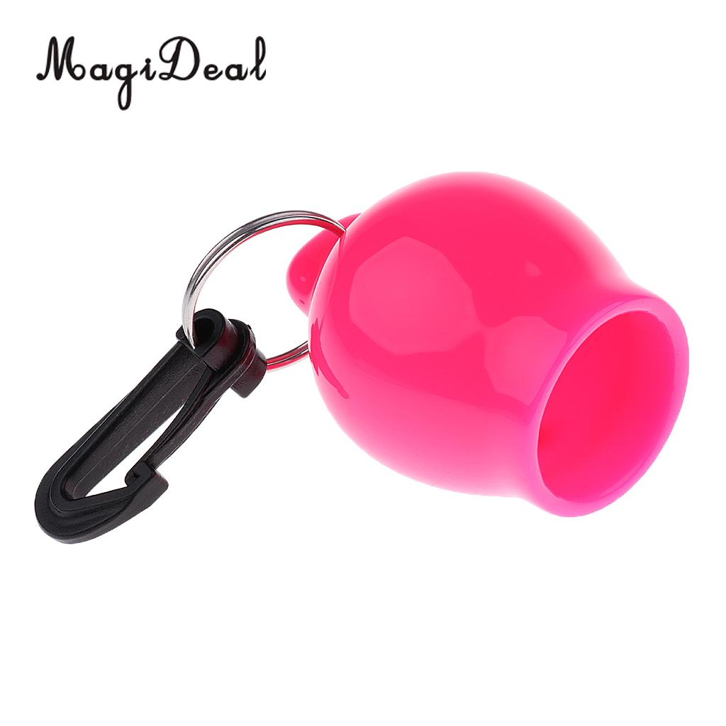 MagiDeal Scum-Ball Regulator Octopus Holder Retainer Mouthpiece Cover with Clip Water Sports Scuba Diving Accessories