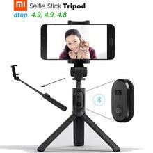 Oryginalny Xiao mi mi statyw do kijka do selfie Bluetooth 3.0 Remote 360 obrót lekki składany kompaktowy Android 4.3 + IOS 5.0 +