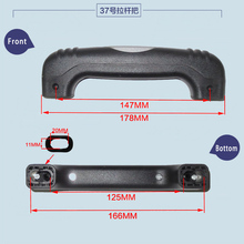 Luggage Hardware Suitcase Repair Parts Handle Travel Case Pull Rod Cipher Suitcase Hand Carry General Handle PVC