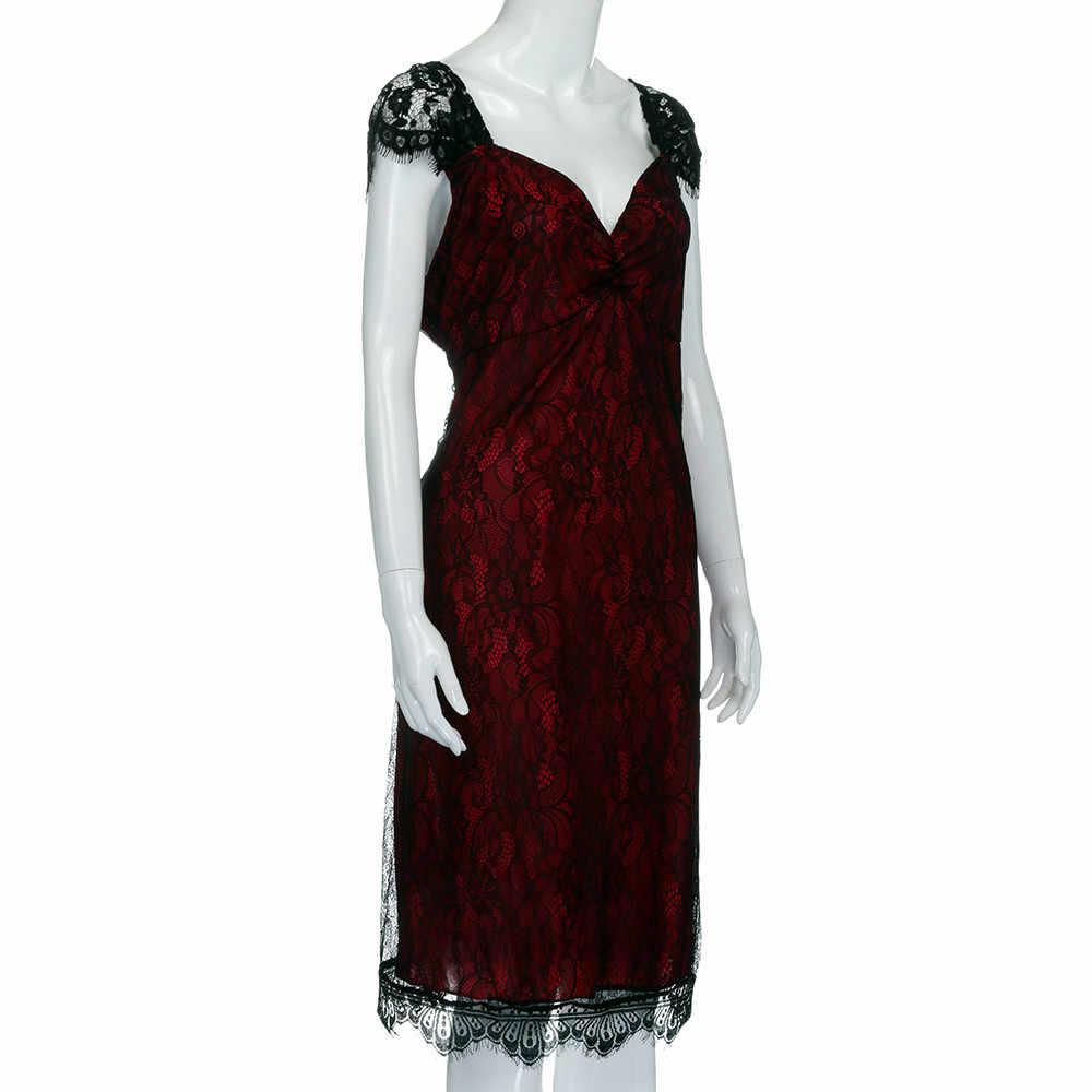 Плюс размер сексуальное платье без рукавов Кружевное длинное вечернее платье для выпускного вечера Формальное вечернее платье Sukienka Дамская vestidos Jurk одежда # YL