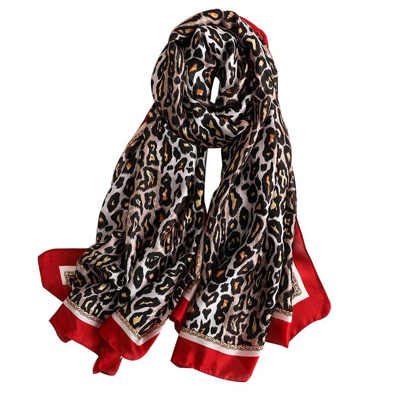 100/% Silk Scarf Fashion Heart Print Scarves Neck Hair Kerchief Bandana Tied 53cm