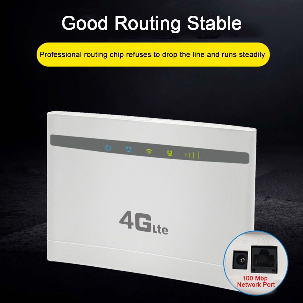 Stable Network Office Computer Universal Wireless Router 3g 4g 300Mbps High Speed Accessories Home School Easy Use WIFI Sharing