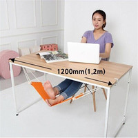Portable Mini Office Foot Rest Stand Desk Feet Hammock Easy To Disassemble Home Study Library Outdoor