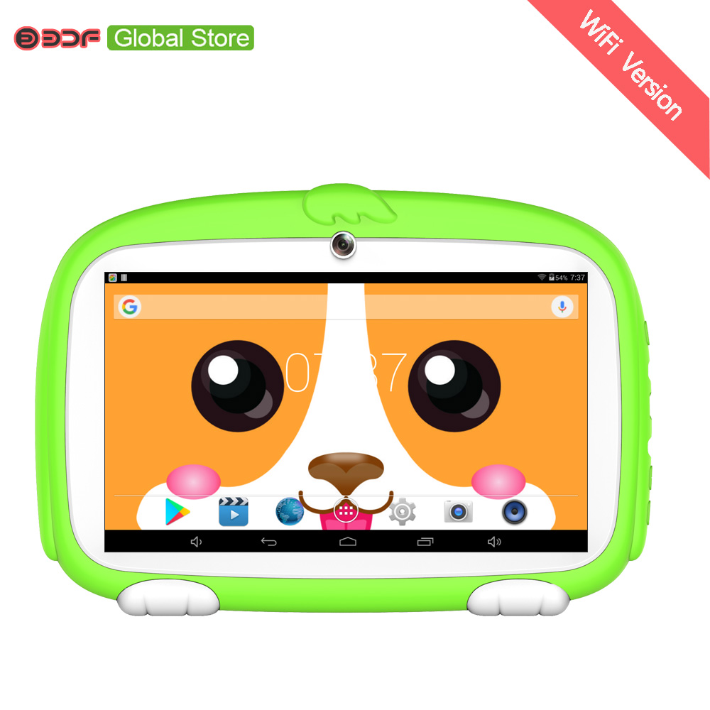 7 Inch Tab Pc Children Kids Learning Tablet Pc Android System Quad Core Installed Best Gifts For Children 7 Inch Tablets