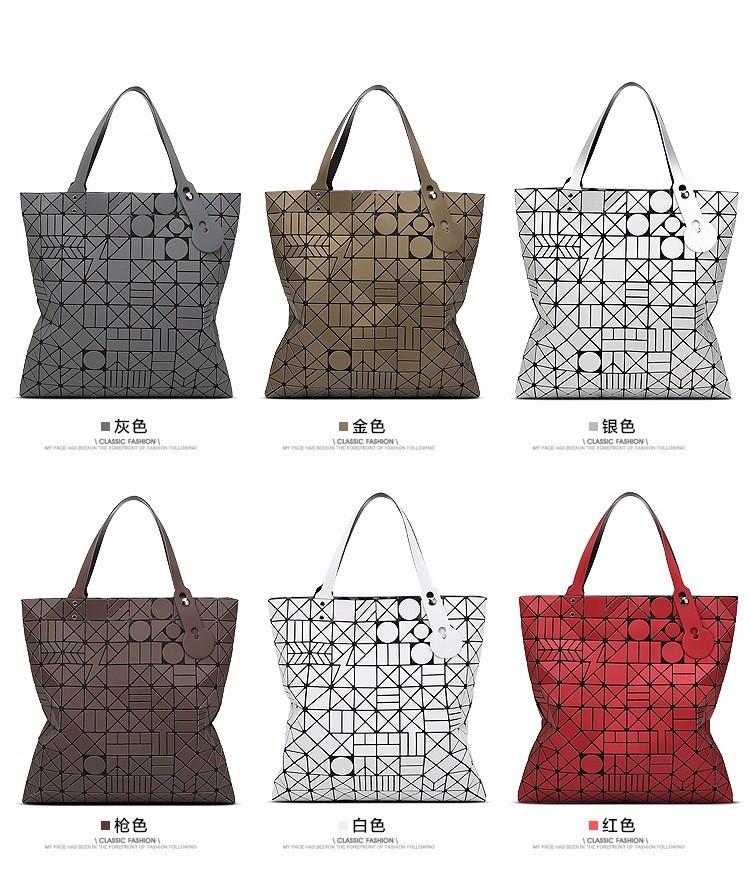 Big European Women Hand Bag tote Geometric large baobao Bag Luxury Brand High Quality geometry bao bao Handbag Bags Designer 5