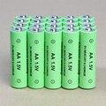 20 unids/lote aa batería recargable 14500 1.5 v aa alcalinas batería mp3 llevó la luz de la cámara del juguete envío gratis