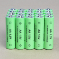 20pcs / lot AA rechargeable battery 14500 1.5V AA Alkaline battery for camera toy mp3 led light battery Free shipping