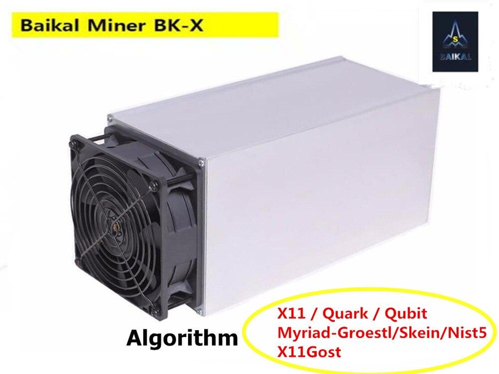 Baikal BK-X gigante X10 10GH/s XVG Asic minero Ming 7 algoritmos mejor que Antmminer S9 S9i S9j T15 s15 Z9 Mini BK-G28 BK-B