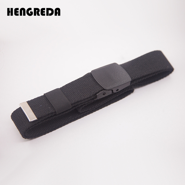 Canvas Waist Fashion Plastic Buckle Casual Cowboy Black Belts 4