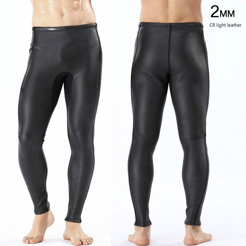 2 мм светлая кожа CR дайвинг гидрокостюм для дайвинга брюки теплые штаны для дайвинга мужские уличные плавки Новое поступление 2018 - 2