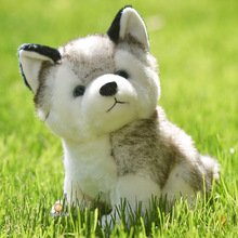 10 Styles Husky Toy , Kawaii Puppy Dog Stuffed Animal Doll Cute Simulation Husky Dog Keychain , Plush Toy For Kid Christmas Gift