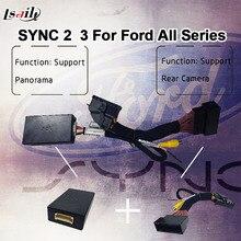 Fácil plug & play CAN-BUS 360 módulo de Panorama para Ford SYNC 2 y SYNC 3 con parking directriz