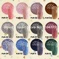 ЧЕ меха леопарда стили soak off светодиодные ногтей уф строитель цветной гель набор салон дизайна ногтей инструменты 12 цветов доступны