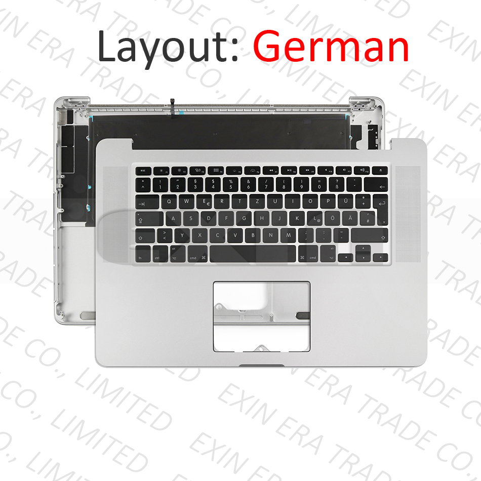 New Laptop Replacement Keyboard for Apple MacBook Pro A1398 Retina15 2013-2015 US Layout